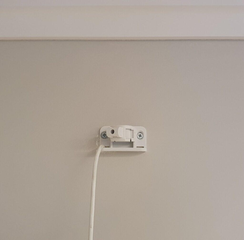 Установка кронштейна для ИК датчика
