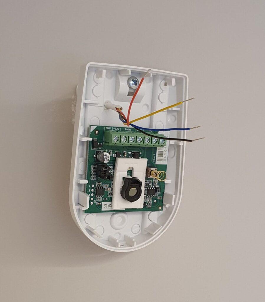 Схема подключения ИК датчика