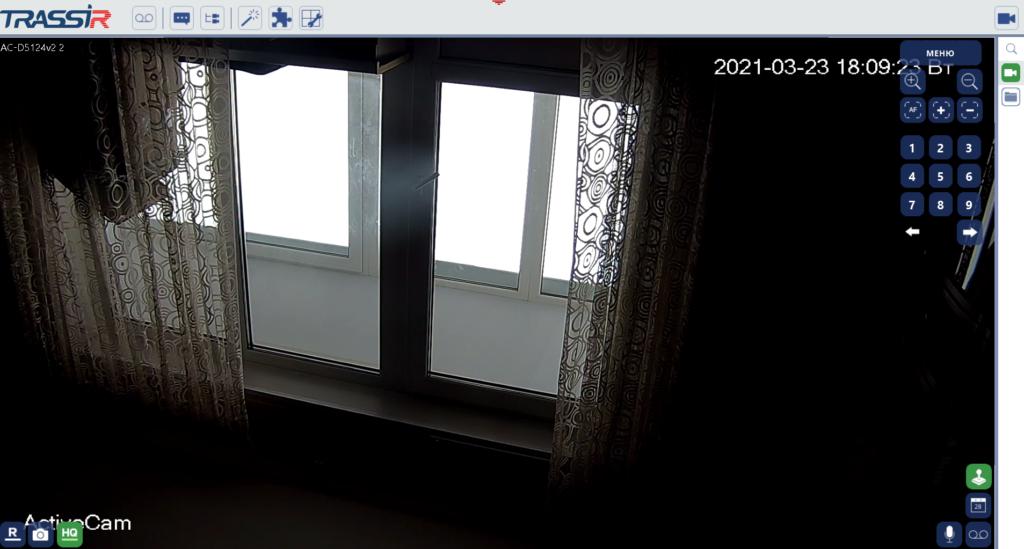 Камера IP. Просмотр