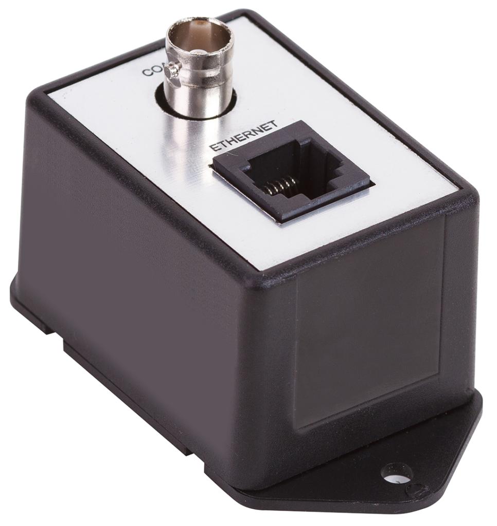 Подключение IP камеры по коаксиальному кабелю